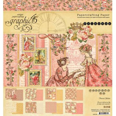 Graphic 45 Paper Pad - Princess